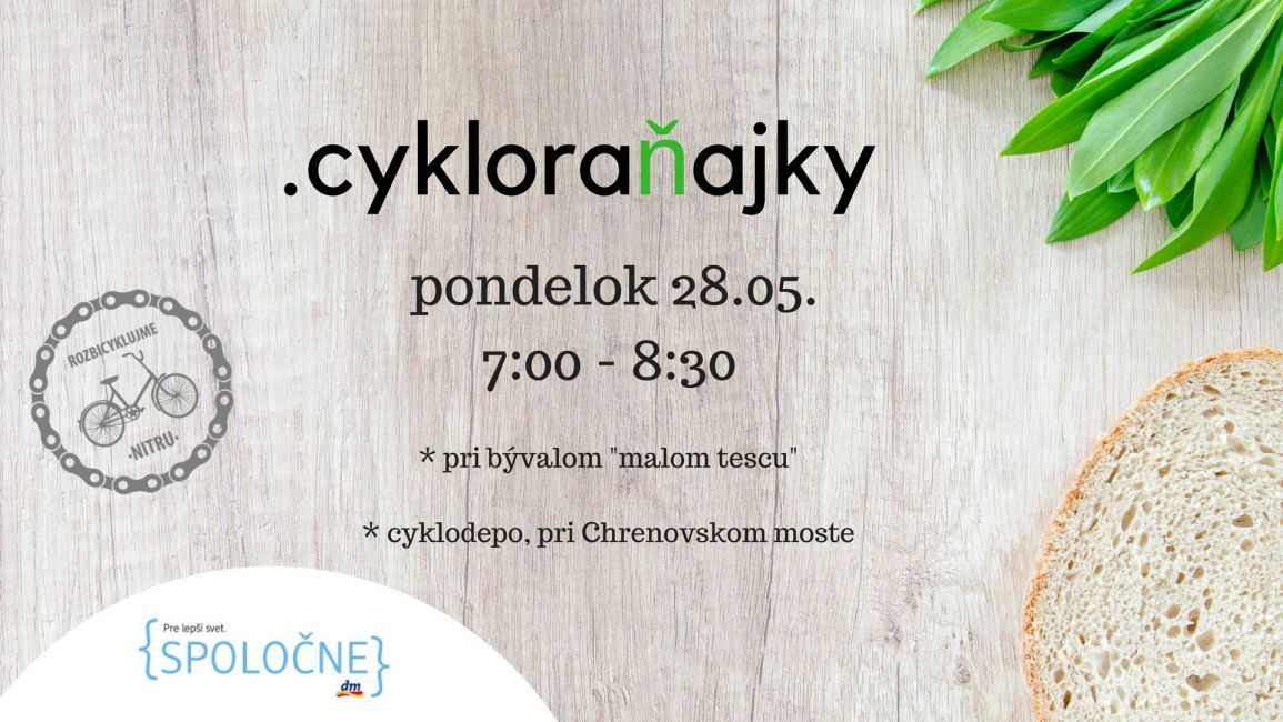 Cykloraňajky Nitra 2018